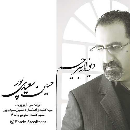 دانلود آهنگ جدید حسین سعیدی پور دیوانه بی رحم